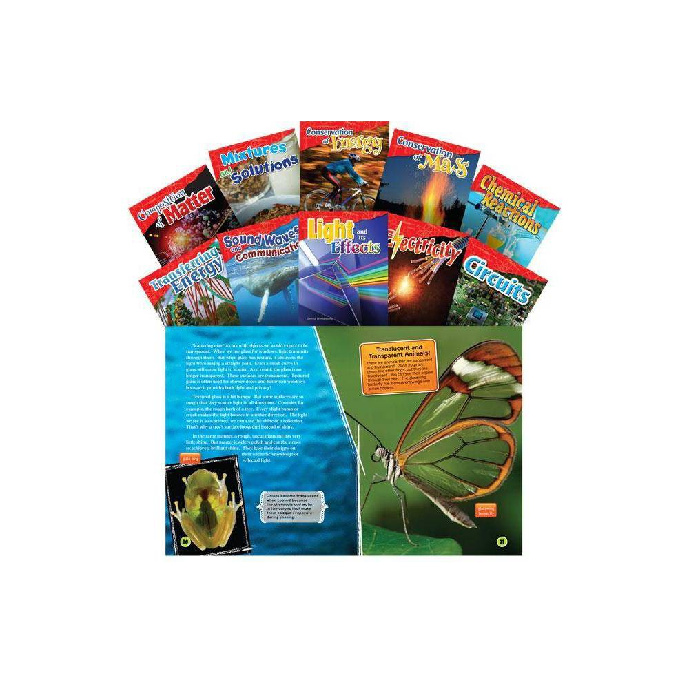 Let S Explore Physical Science Grades 4 5 10 Book Set Science Readers By Suzanne Barchers Theodore Buchanan Torrey Maloof Paperback