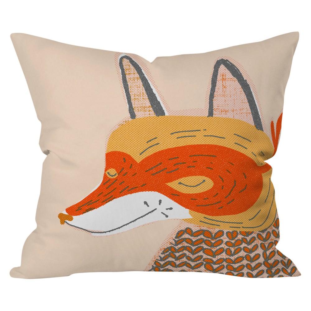 Mummysam Mr Fox Throw Pillow (16