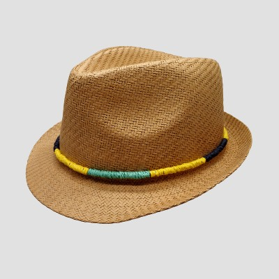 Baby Boys' Fedora with Braided Band - Cat & Jack™ 12-24M
