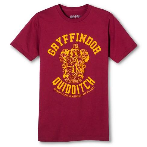 1b9f9787a3cf8 Men s Harry Potter® Gryffindor Quidditch Team T-Shirt - Burgundy ...