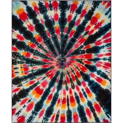 Katelyn Tie Dye Design Loomed Rug - Safavieh
