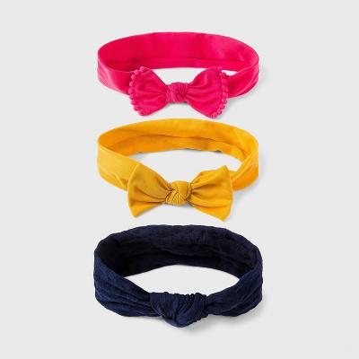 Baby Girls' 3pk Texture Headband Set - Cat & Jack™