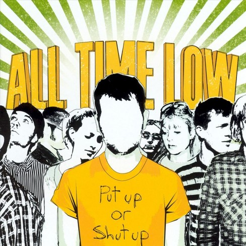 All time low - Put up or shut up (CD) - image 1 of 1