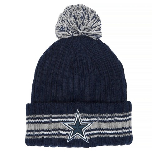 NFL Dallas Cowboys Beanie - Navy White   Target 4e658d4d3d55