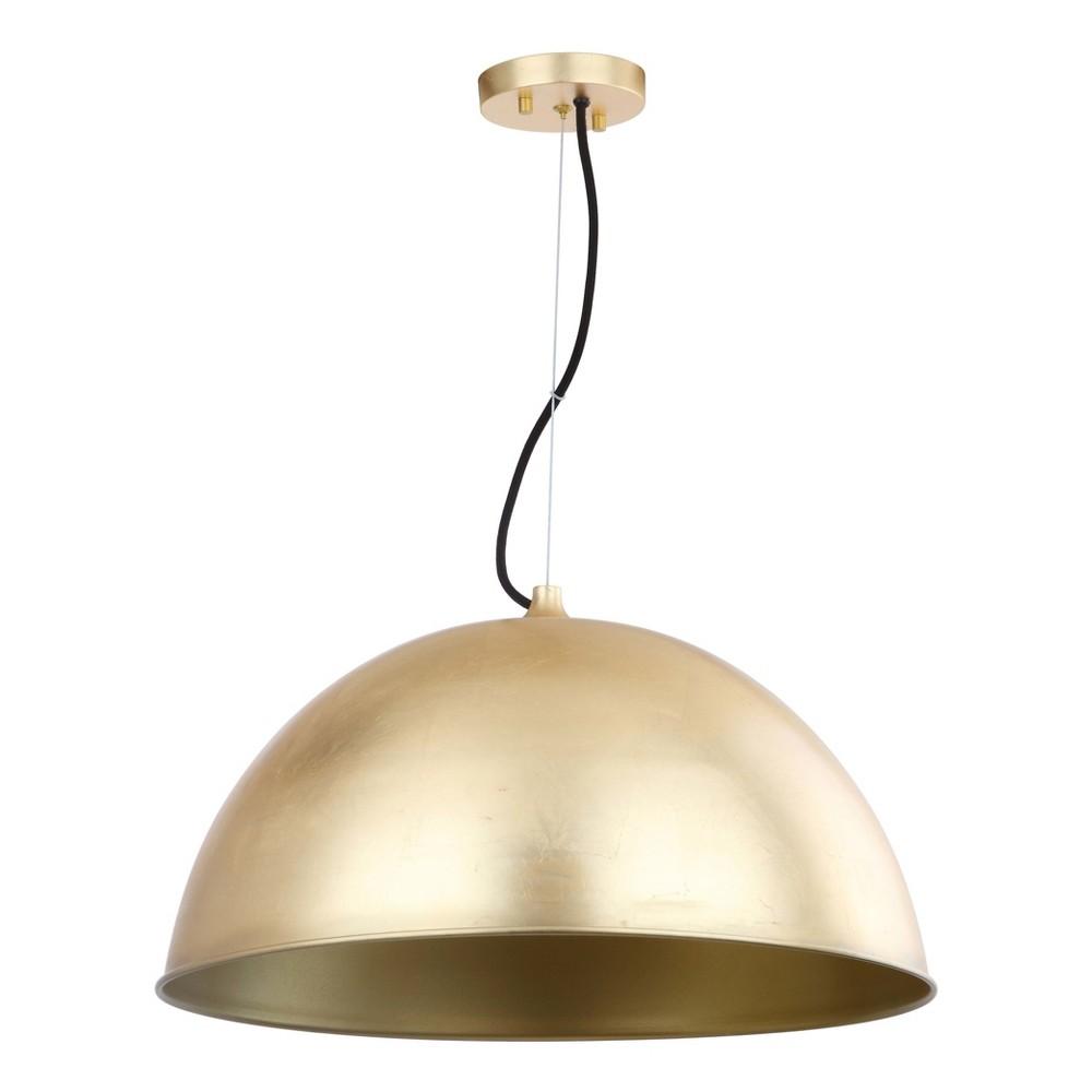 Archer Dome 21 Adjustable Pendant - Gold Leaf - Safavieh