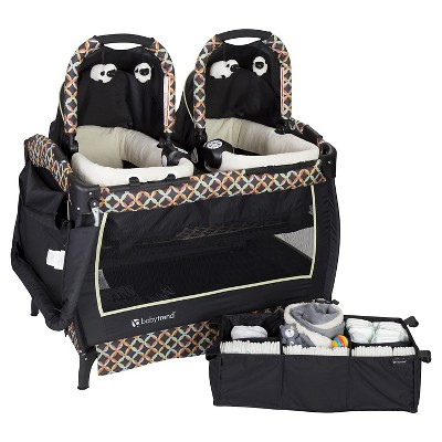 Baby Trend Twins Playard Set - Circle Tech