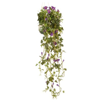 Garden Accents Artificial Petunia Plant Green 25  - National Tree Company®