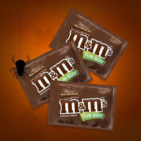M M s Fun Size Milk Chocolate Candy Bag - 10.53oz   Target e82f48491e5f4