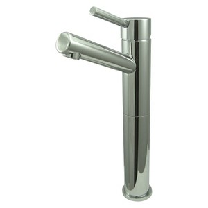 Vessel Bathroom Faucet Chrome - Kingston Brass, Grey