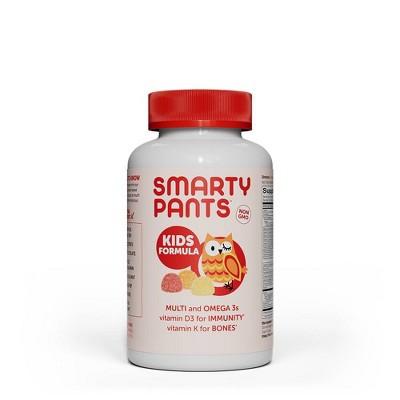 SmartyPants Kids Formula Multivitamin Gummies - Lemon, Orange & Strawberry Banana - 90ct