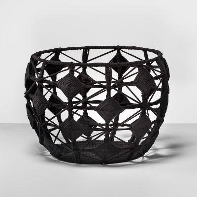 Macrame Basket - Black - Opalhouse™