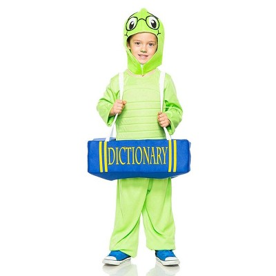 Seeing Red Book Worm Child Costume