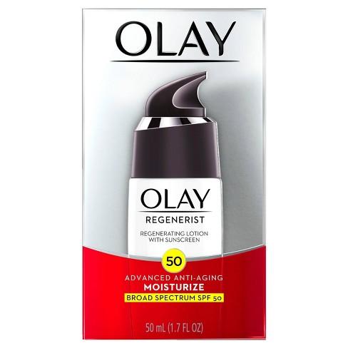 Olay Regenerist Regenerating Lotion - SPF 50 - 1.7 fl oz - image 1 of 3