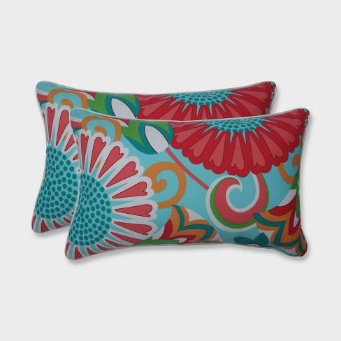 2pk Sophia Rectangular Throw Pillows Green Pillow Perfect Target