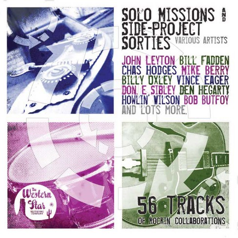 Various - Solo missions & side project sorties (CD) - image 1 of 1