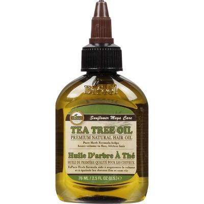 Difeel Premium Natural Hair Tea Tree Oil 2.5 fl oz