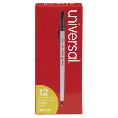 Universal® Economy Ballpoint Stick Oil-Based Pen, Medium, 12 ct