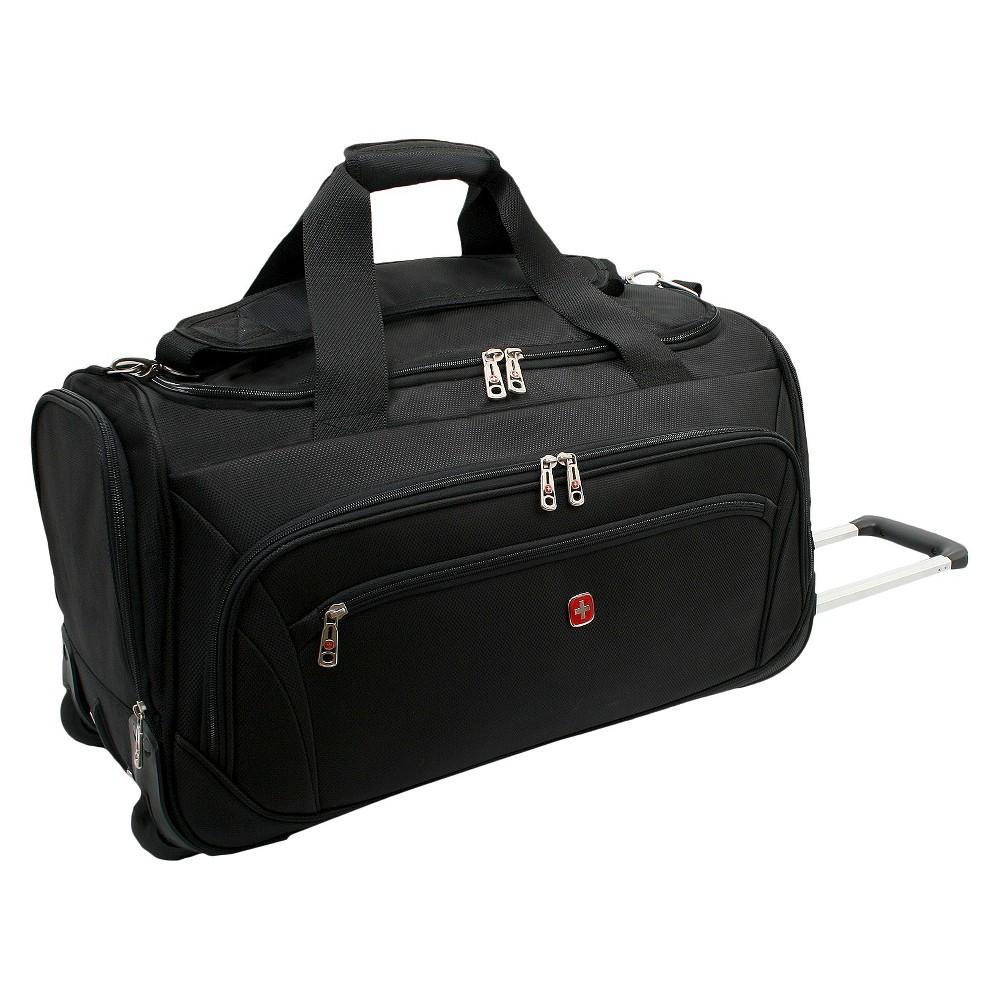 Swissgear Zurich 22 Wheeled Duffel Bag Black