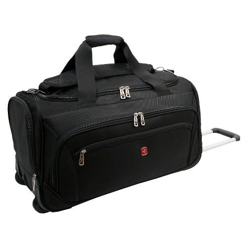 'SWISSGEAR Zurich 22'' Wheeled Duffel Bag - Black'