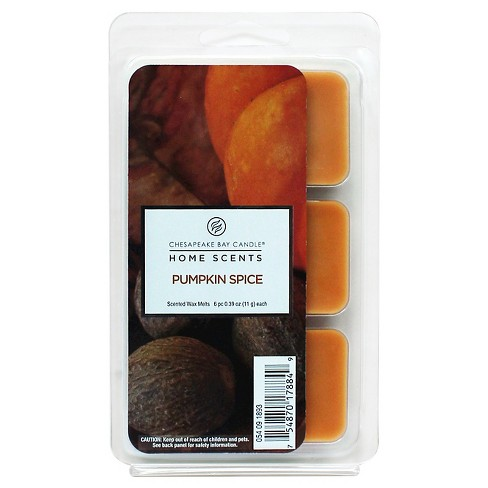 6pk Warmer Scent Melts Pumpkin Spice - Home Scents by Chesapeake Bay® - image 1 of 1