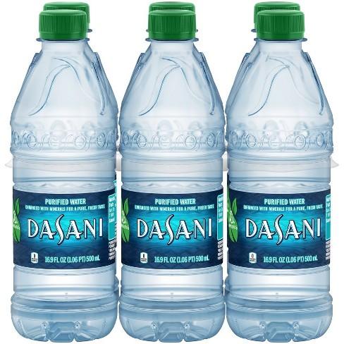 Dasani Purified Water - 6pk/16.9 fl oz Bottles