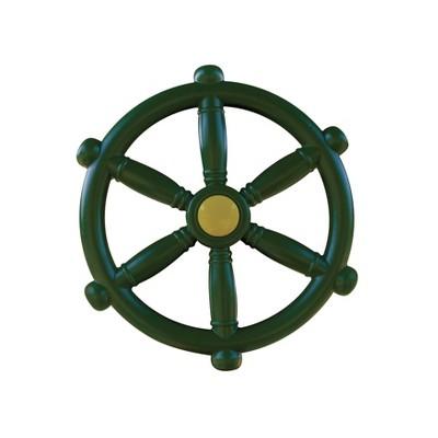"Gorilla Playsets Ship's Wheel  Swing Set Accessory - 12"" Diameter"
