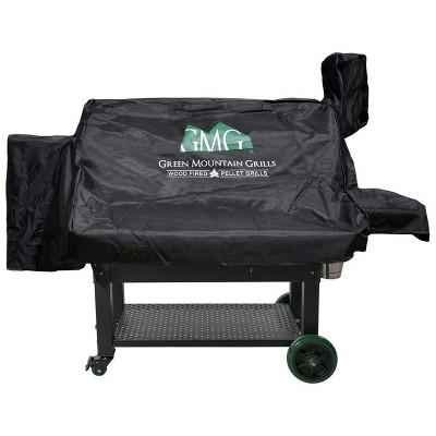 Green Mountain Grills Jim Bowie Prime WiFi Smart Grill Outdoor All Weather Cover, Protects Against Rain, Sun, and Wind, Black (Cover Only)
