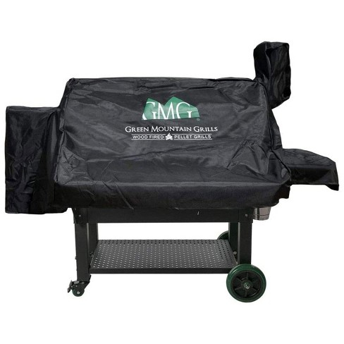 Green Mountain Grills Jim Bowie Prime WiFi Smart Grill Outdoor All Weather Cover, Protects Against Rain, Sun, and Wind, Black (Cover Only) - image 1 of 3