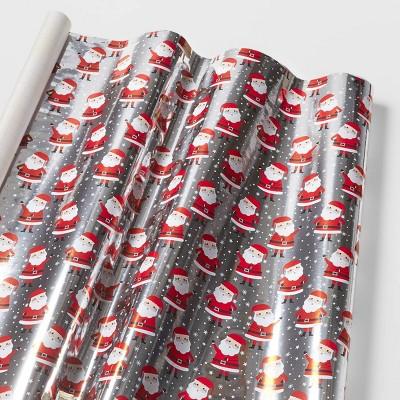 Snowy Santa Gift Wrap - Wondershop™