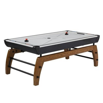 "Hall of Games Edgewood 84"" Air Powered Hockey Table - Black"