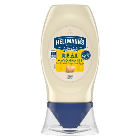 Hellmann's Squeeze Real Mayonnaise - 5.5oz - image 1 of 4