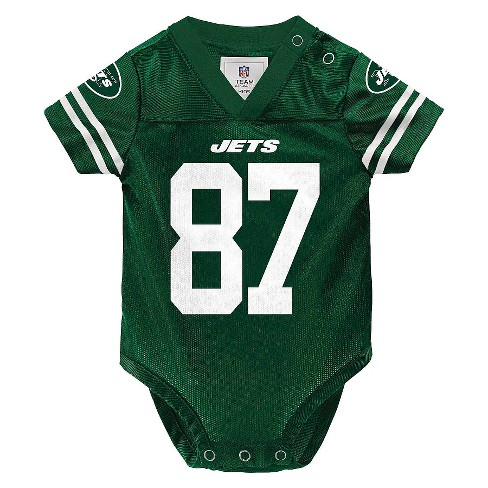 New York Jets Toddler/Infant Jersey Body Suit 6-9 M - image 1 of 2