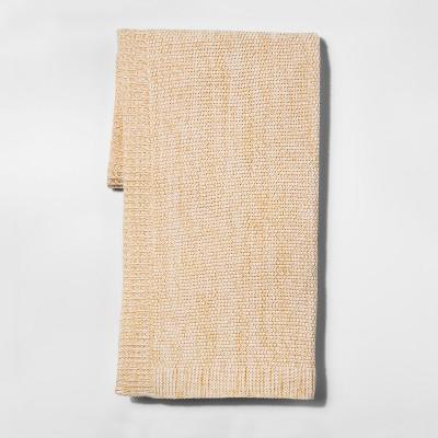 Yellow Marled Sweaterknit Throw Blanket 50 X60  - Threshold™