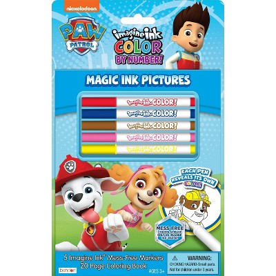 PAW Patrol Imagine Ink Color by Number