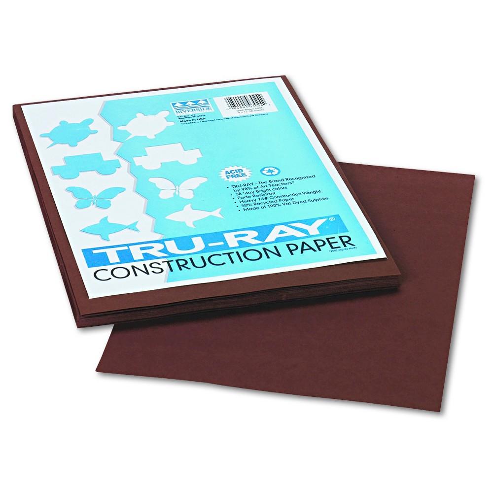 Paper 9 X 12 Pacon Dark Brown
