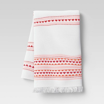 Cotton Hearts Terry Kitchen Towel - Opalhouse™
