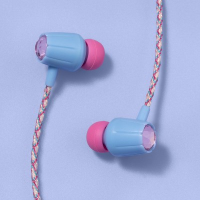Wired Kids' Earbuds - More Than Magic™ - Pink/Blue