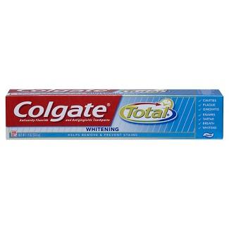 Colgate Total Whitening Paste Toothpaste Travel Size - 1.4oz