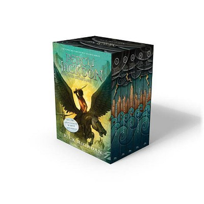 Percy Jackson Box Set 07/07/2015 Juvenile Fiction - by Rick Riordan (Paperback)