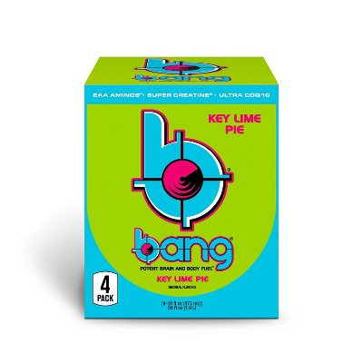 BANG Key Lime Pie Energy Drink - 4pk/16 fl oz Can