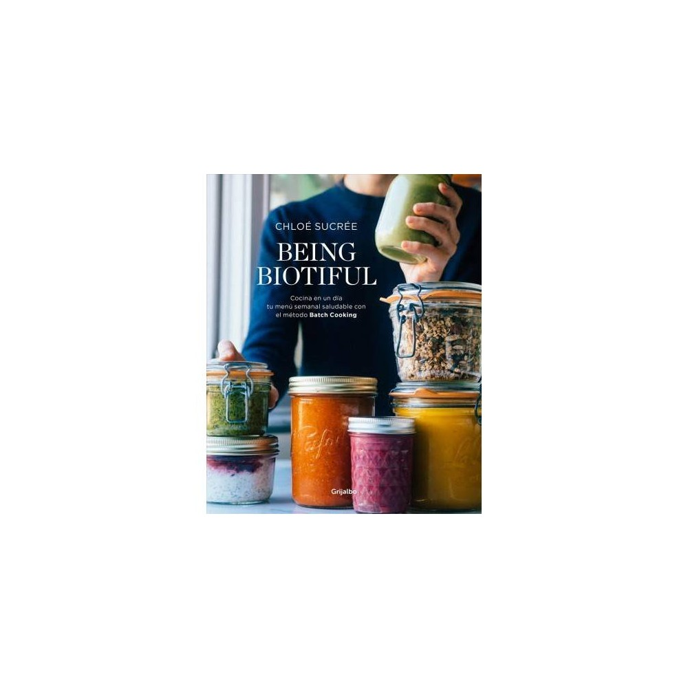 Being biotiful - by Chloe Sucree (Paperback) Cuídate preparando comidas deliciosas, rápidas y muy saludables con el método Batch Cooking. ¡Organízate y disfruta! Comer saludable no siempre es fácil y más si volvemos tarde a casa, cansados y con mucha hambre y, al final, ya sea por falta de tiempo o de inspiración, es fácil caer en la trampa de comer algo precocinado, sin ningún tipo de elaboración y, por lo general, poco sano. Pero ¿y si te digo que se puede comer saludable aun teniendo poco tiempo? Chloé, fundadora del blog Being Biotiful que cuenta con miles de seguidores, nos enseña el método Batch Cooking, una manera de planificar y preparar comidas saludables, caseras y fáciles para toda la semana en tan solo una tarde. Tras años de práctica en el arte de tostar y mezclar semillas, batir frutas y verduras y combinar ingredientes de manera sorprendente, nos cuenta su historia y sus consejos esenciales e inspiradores para cambiar nuestra rutina alimentaria y encaminarnos hacia una dieta vegetariana, orgánica y de temporada. English Description Eating healthy is not always easy, especially if you tend to come home late from work. Coming home late and tired makes it easy to fall into the trap of eating pre-packaged meals which in most cases, are very unhealthy and lack any nutritional values. But what if I told you that you can eat healthy even when you're short of time? Chloé, founder of the Being Biotiful blog which has thousands of followers, teaches us the Batch Cooking method; a way to plan and prepare healthy, homemade, easy meals for the whole week in just one afternoon. After many years of perfecting the art of roasting and mixing seeds, blending fruits and vegetables, and mixing unexpected ingredients in different ways, she tells us her story and her inspiring advice on how to change our eating routine, and guide us towards a vegetarian, organic, and seasonal diet.