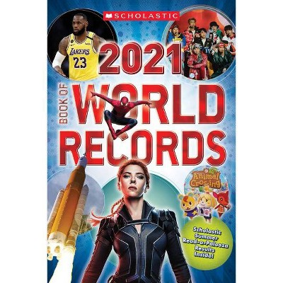 Scholastic Book of World Records 2021 - (Paperback)