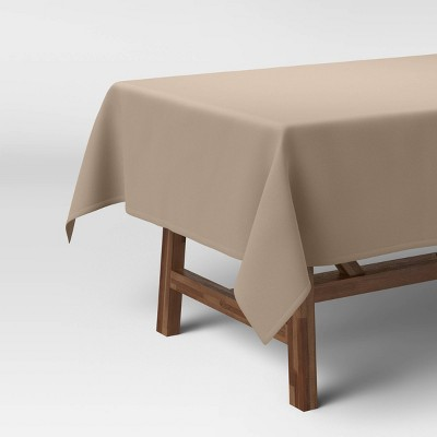 """84"""" x 60"""" Solid Tablecloth Natural - Threshold™"""