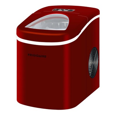 Frigidaire Compact Ice Maker - Red