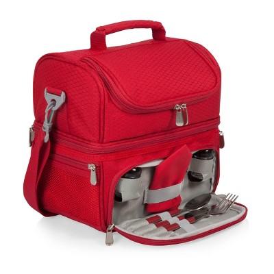 Picnic Time Pranzo 6qt Lunch Bag - Red