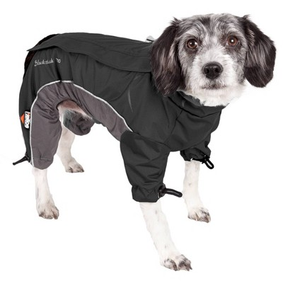Dog Helios Blizzard Full-Bodied Adjustable and 3M Reflective Dog and Cat  Jacket - Black