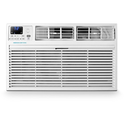 Emerson Quiet Kool 230V 10,000 BTU SMART Through the Wall Air Conditioner with 10,600 BTU Supplemental Heating - image 1 of 3
