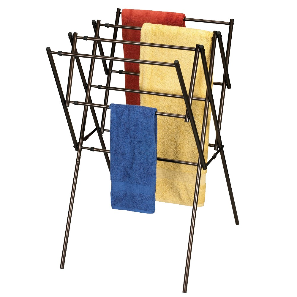 Image of Household Essentials Expandable Drying Rack - Antique Bronze