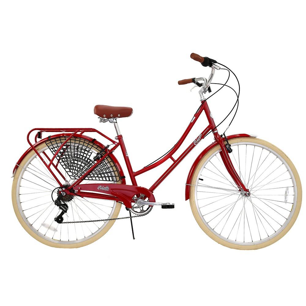 Columbia Women's Vintage Archbar 700c Mountain Bike - Red