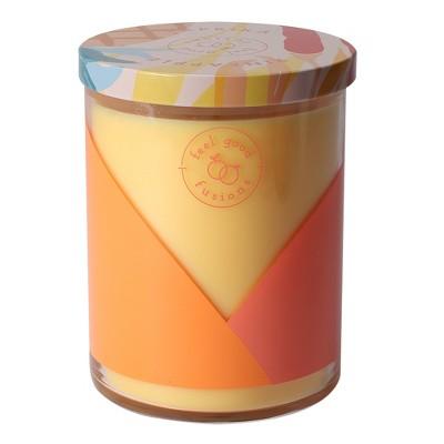14.5oz Lidded Jar Candle Pineapple Paprika